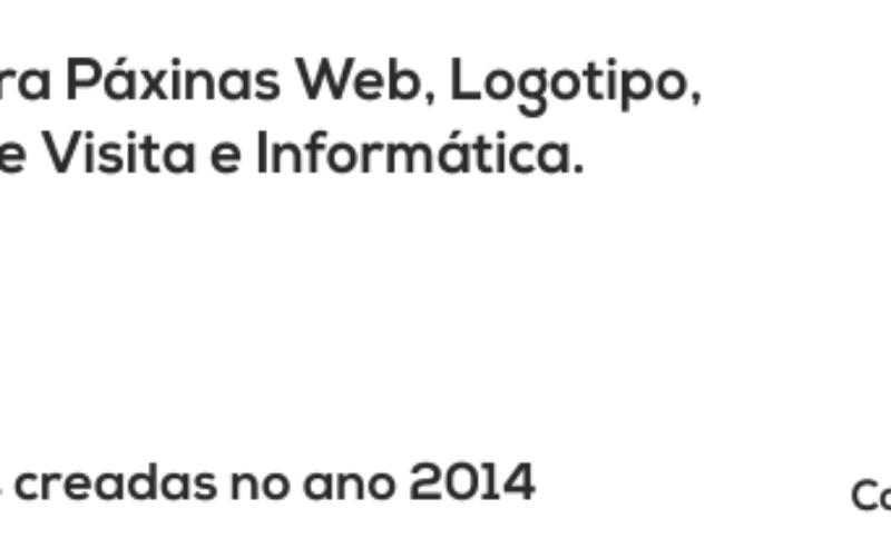 Subvención Página Web / Logotipo / Tarxetas / Material informático