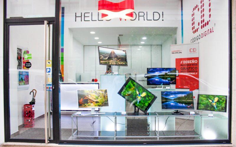 Exposición de los monitores mas espectaculares del mercado