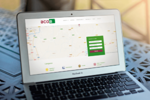 Página web ACOE