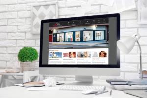 Página web Innova Ópticos